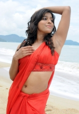 anchorrashmi-gautam-hot-navel-show