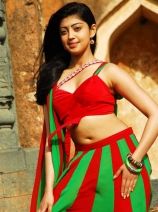 pranitha-hot-navel-show