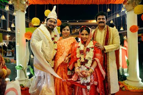Brahmaji-son-sanjay-marriage-photo