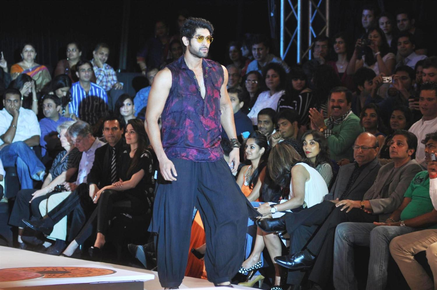 Rana Daggubati at Blenders pride Fashion week