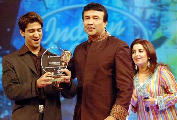 Sandeep Acharya at Indian Idol2