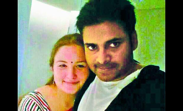pawan kalyan and anna lezhneva