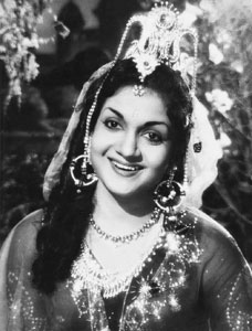 Anjali Devi as Anarkali