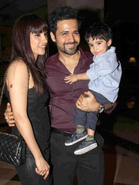 Emraan with Ayaan and Parveen
