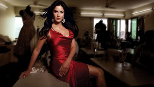 Katrina Kaif in Red Dress