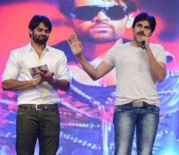 Pawan Kalyan at Rey Audio Launch
