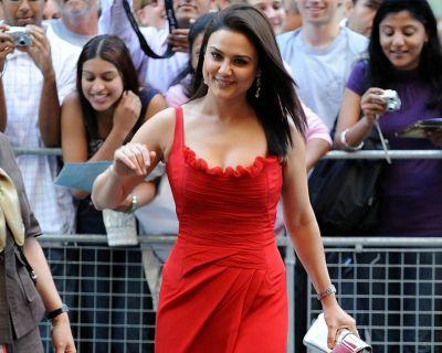 Priety in Red Dress