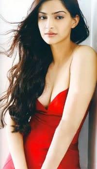 Sonam Kapoor in Red Dress