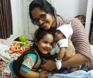 Anasuya-with-her-Two-Childrens