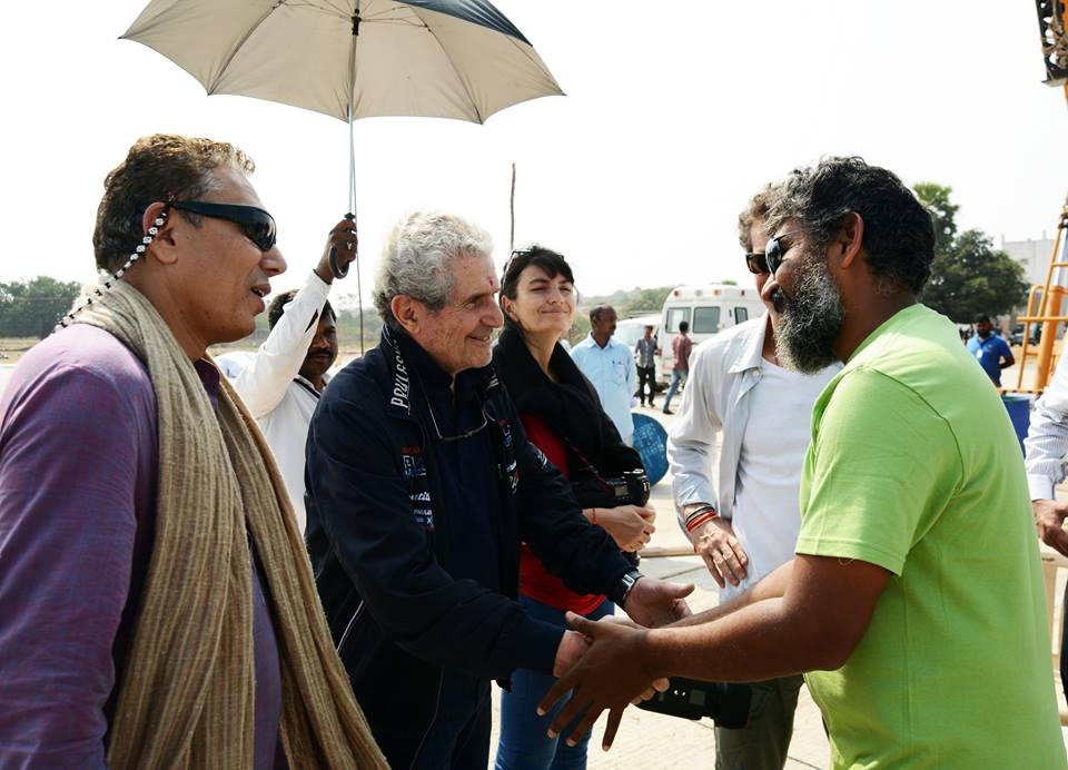 Claude-Lelouch-with-Rajamouli-in-Baahubhali-sets