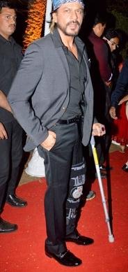 SRK at Ahana's reception