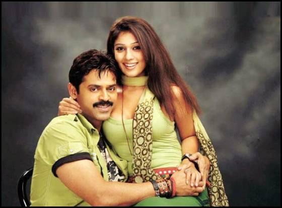 Venkatesh and Nayanthara