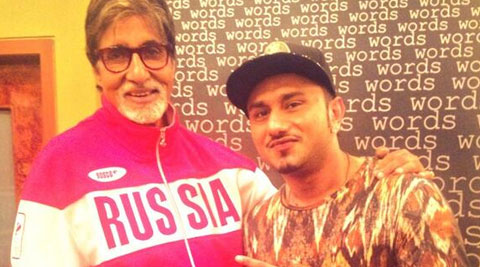 Yo Yo Honey Singh with Big B