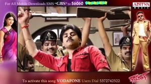 Gabbar Singh Songs