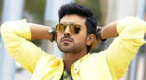 ram charan in orange