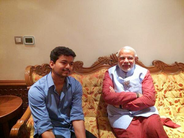 Hero-Vijay-Meets-Narendra-Modi-Photos