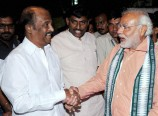 Superstar-Rajinikanth-BJP-PM-Candidate-Narendra-Modi-Photos