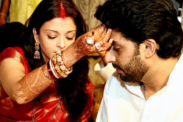 Ash-Abhishek Marriage in 2007