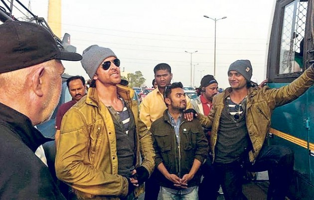 Hrithik-Roshan-on-the-sets-of-Bang-Bang