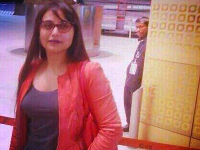 rani mukherjee first appearance after marriage