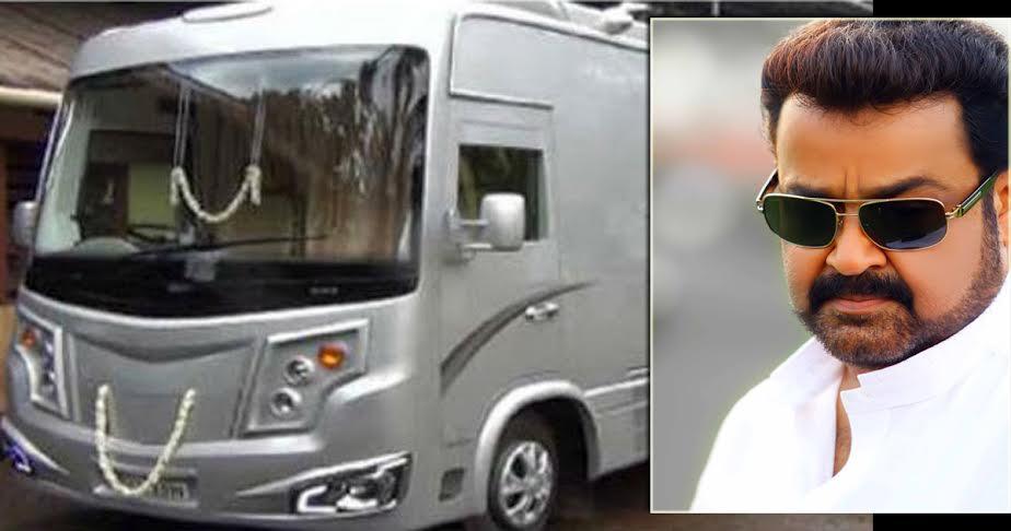 Mohanlal's Luxury Caravan