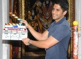 Naga-Chaitanya-Claps-His-New-Movie-Opening-Photos