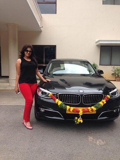 Anjali-BMW-Car