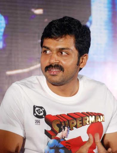 Karthi-Hospitalized