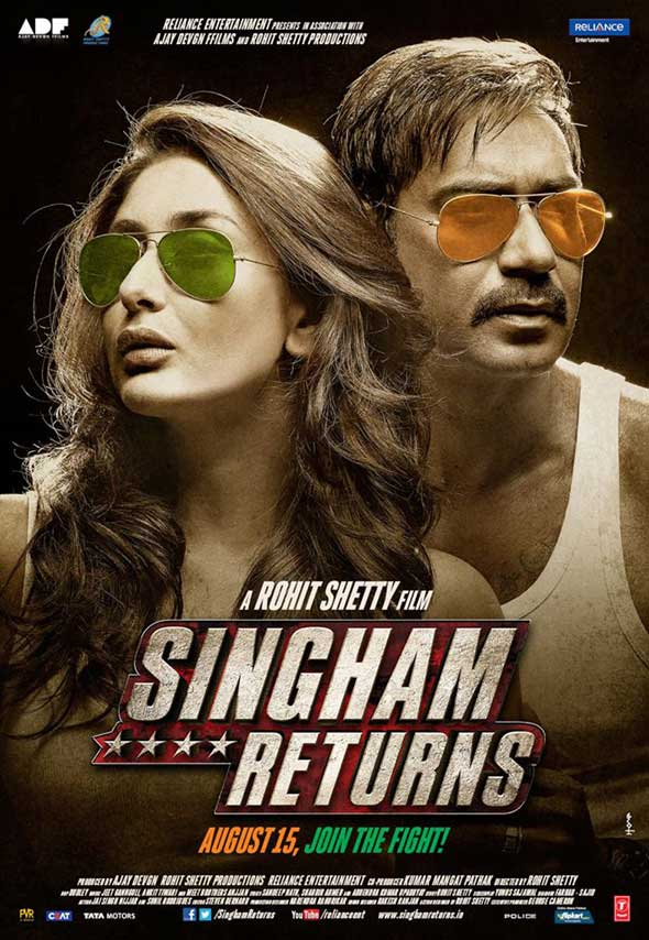 Singham Returns Movie First Look