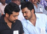 Actors Suriya, Karthi at hunger strike for Sri Lankan Tamils Photos