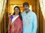 Jagapathi Babu and His Wife
