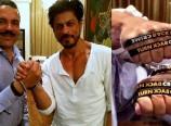 Shah Rukh Khan - Ambassador -Interpol