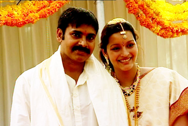 Pawan Kalyan and Renu Desai