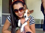 Trisha-with-her-cute-pet