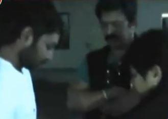 Brahmaji Son Attacked