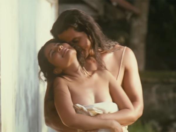 Hot Kiss Scene in Rang Rasiya