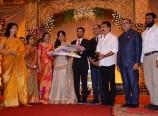 Kamal-Hassan-Gauthami-at-K-Balachander-Grand-Daughter-Wedding-Reception