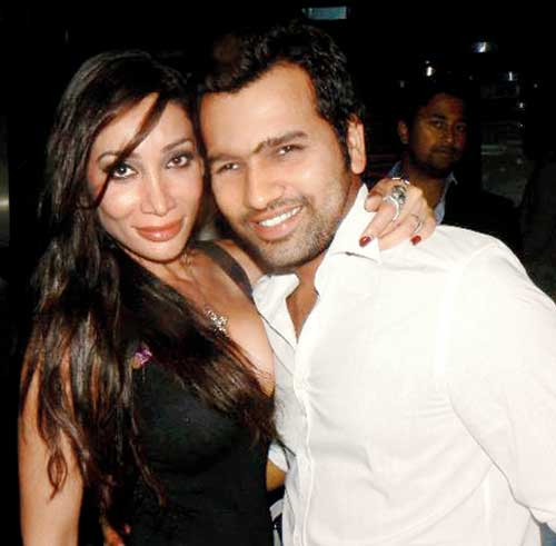 Rohit Sharma and Sofia Hayat Photos