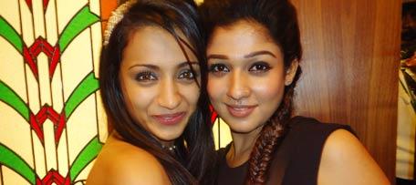 Trisha and Nayanatara Romance
