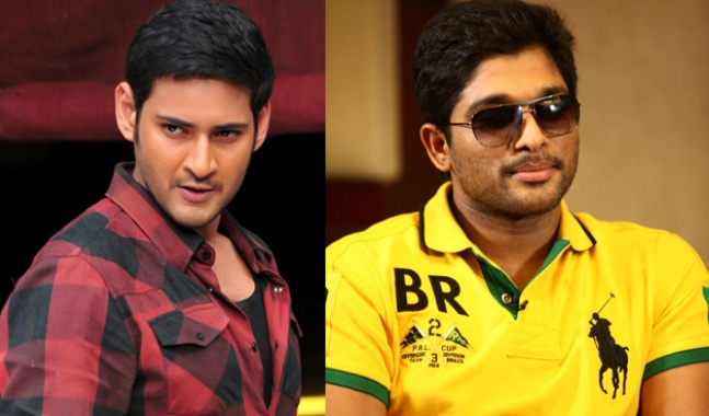 Allu Arjun and Mahesh Babu