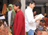 Mahesh Babu with his Son in a School Event