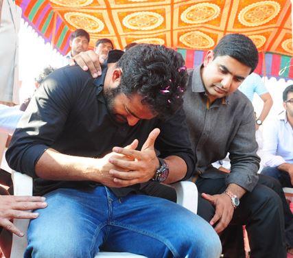 NTR Cries for Janakiram