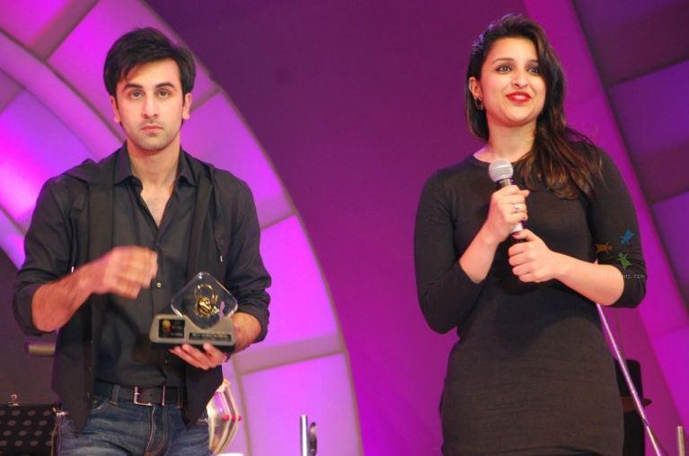 Ranbir Kapoor and Parineeti Chopra