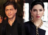 Mahira Khan with SRK