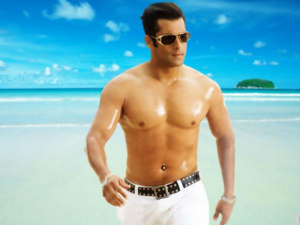 Salman Khan Shirtless