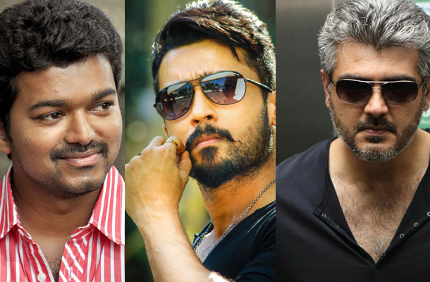 Most Search Tamil Actors