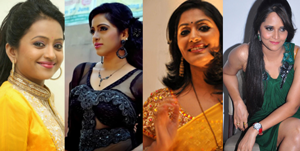 Top Telugu TV Anchors