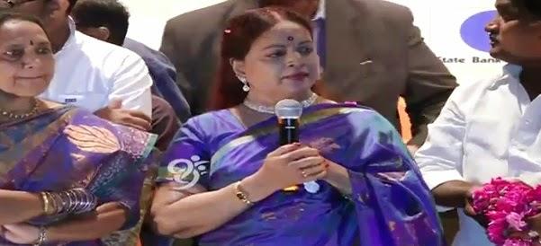 Vijaya Nirmala Telangana Stree Shakthi Award