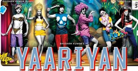 Yaariyan Hindi Movie Poster