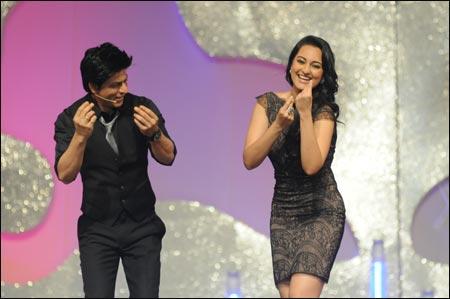 Shah Rukh Khan and Sonakshi